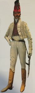 Musée de l'Armée, mannequin with added items.